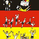 World Cup DEUTSCHLAND 2014 by colortown