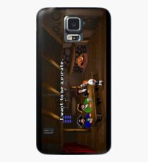 I want to be a pirate! (Monkey Island 2) Case/Skin for Samsung Galaxy