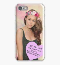 Alycia Debnam - Carey phone case iPhone Case/Skin