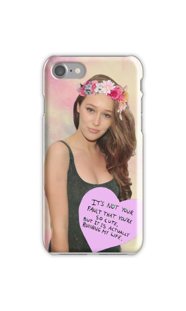 Quot Alycia Debnam Carey Phone Case Quot Iphone Cases Amp Skins By