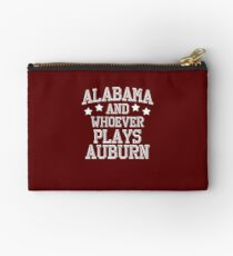 Alabama and Whoever Plays Auburn Studio Pouch