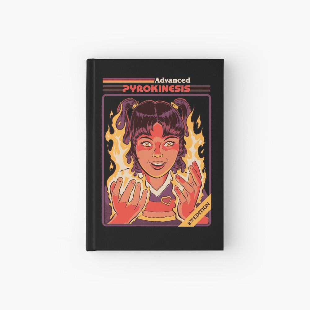 Advanced Pyrokinesis Hardcover Journal