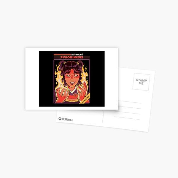 Advanced Pyrokinesis Postcard