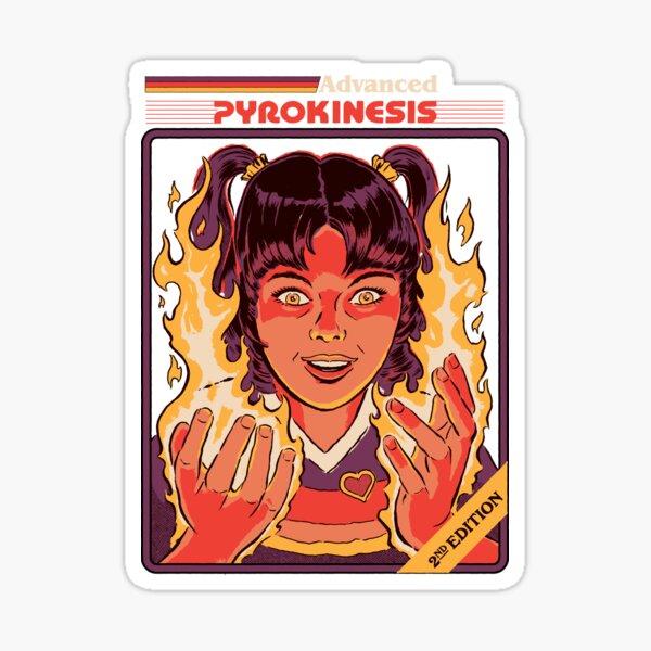 Advanced Pyrokinesis Sticker