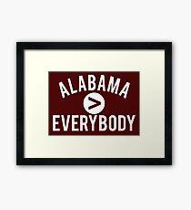 Alabama > Everybody Framed Print