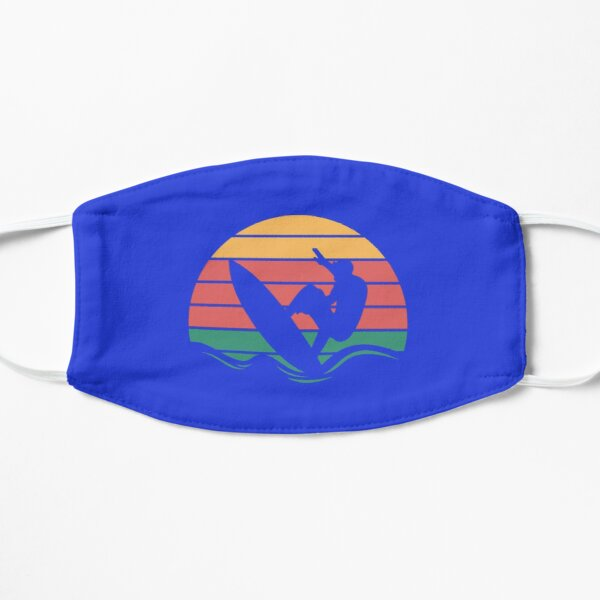 Surfing Sunset Mask
