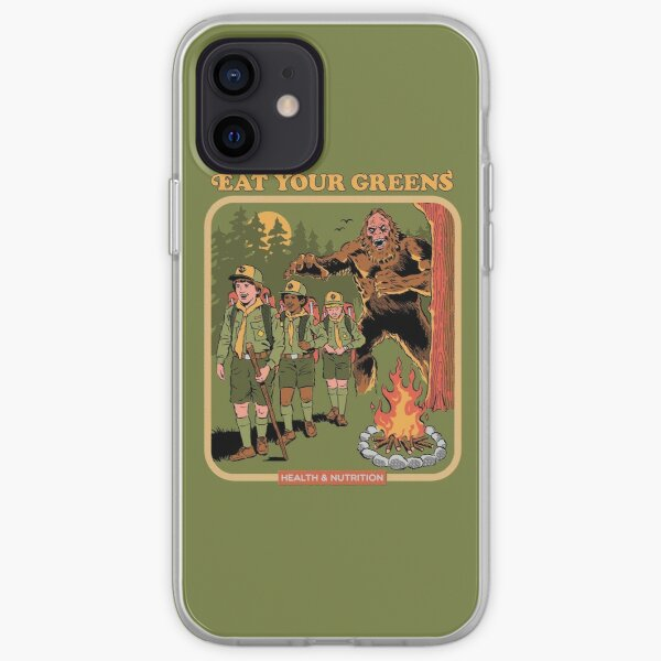 Eat Your Greens iPhone Soft Case
