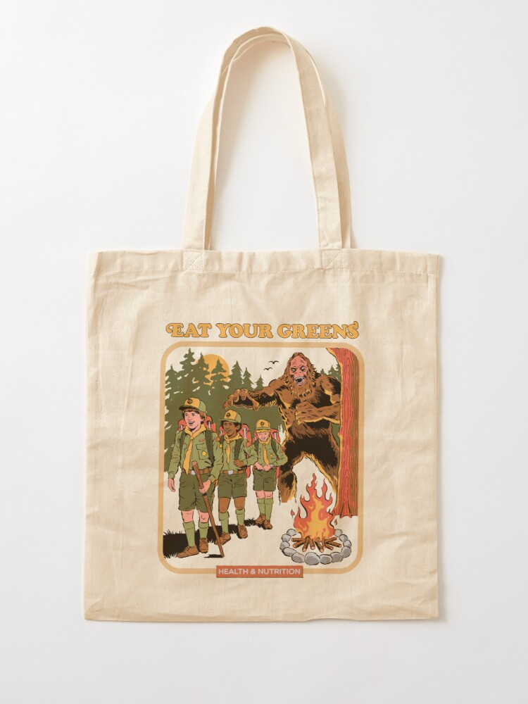 Alternate view of Eat Your Greens Tote Bag