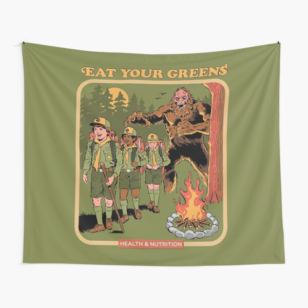 Eat Your Greens Tapestry