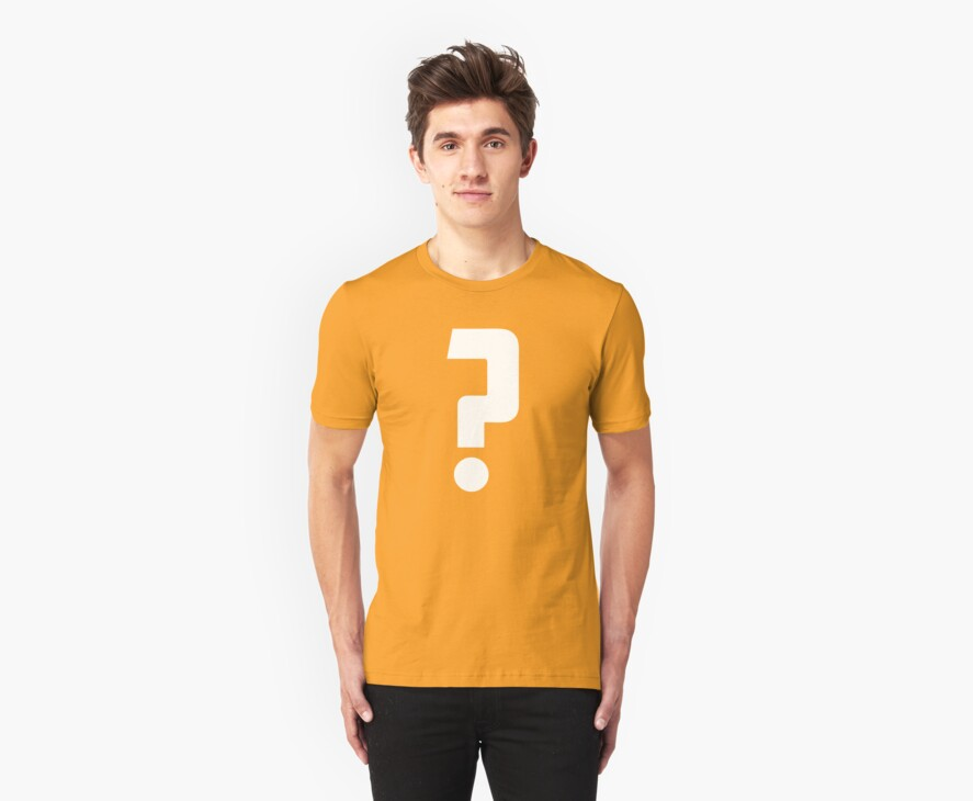 Question Mark - style 2 by Hawthorn Mineart