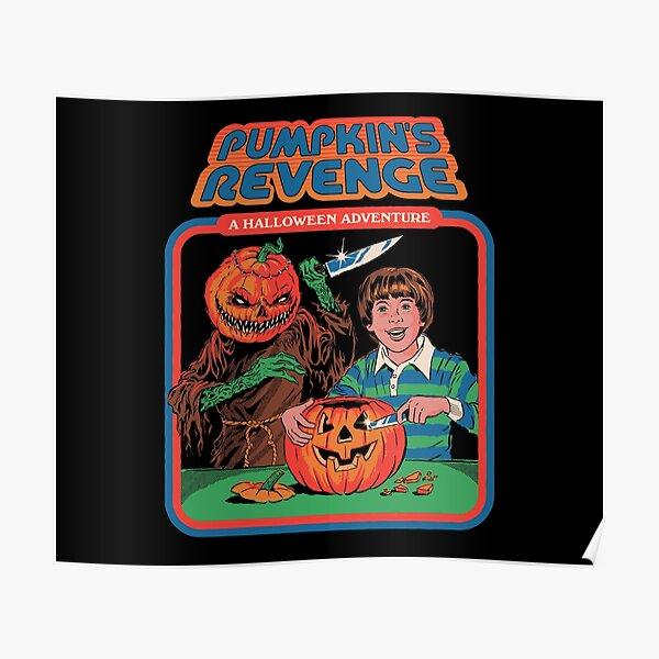 Pumpkins Revenge Poster