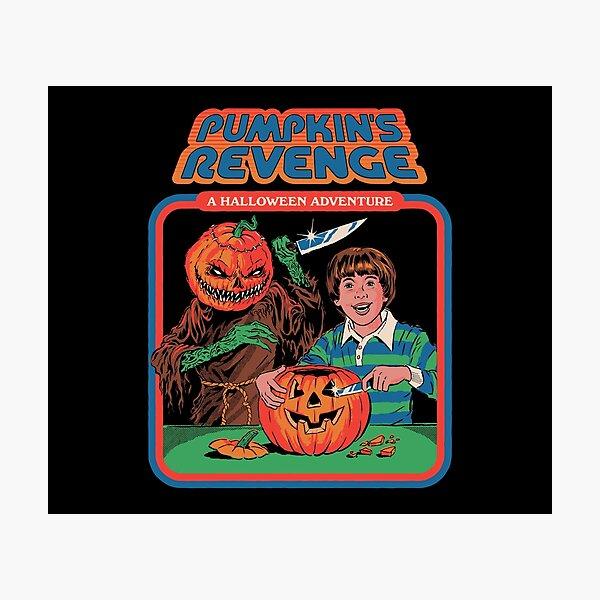 Pumpkins Revenge Photographic Print