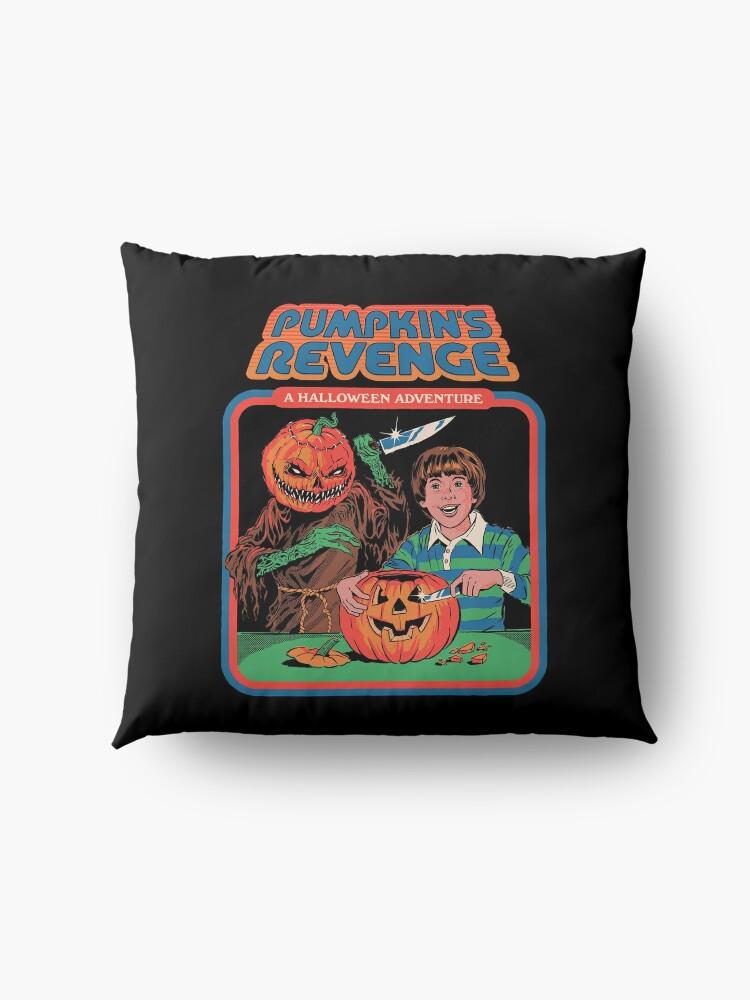 Alternate view of Pumpkins Revenge Floor Pillow