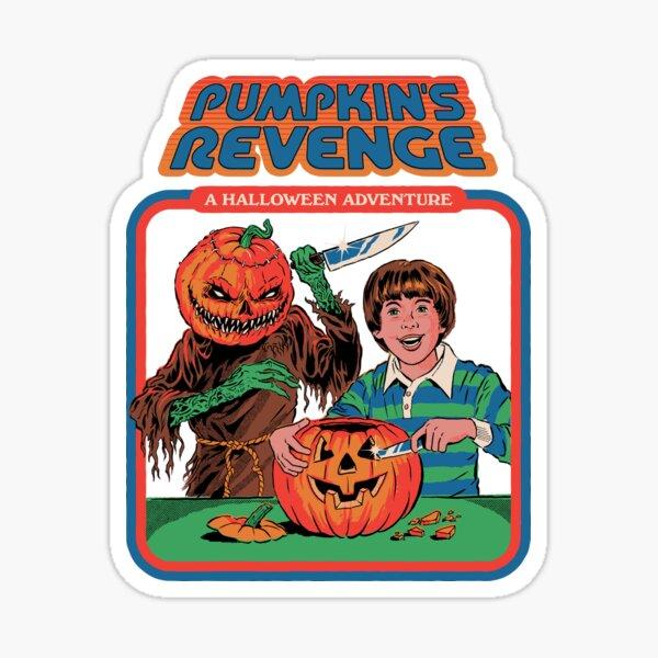Pumpkins Revenge Sticker