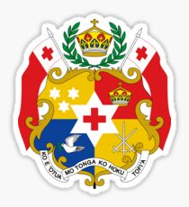 Coat of Arms of Tonga  Sticker