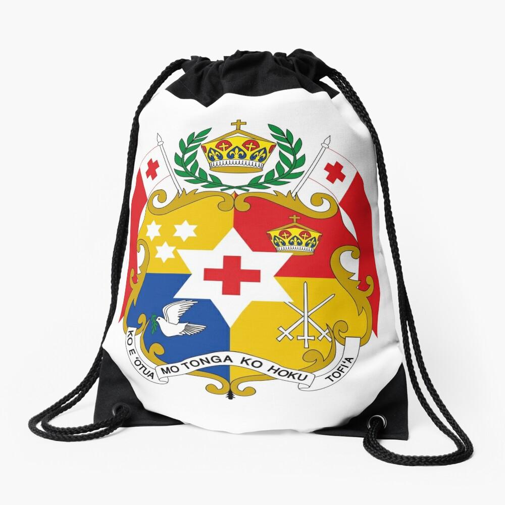 Coat of Arms of Tonga  Drawstring Bag