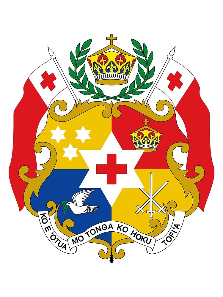 Coat of Arms of Tonga  by abbeyz71