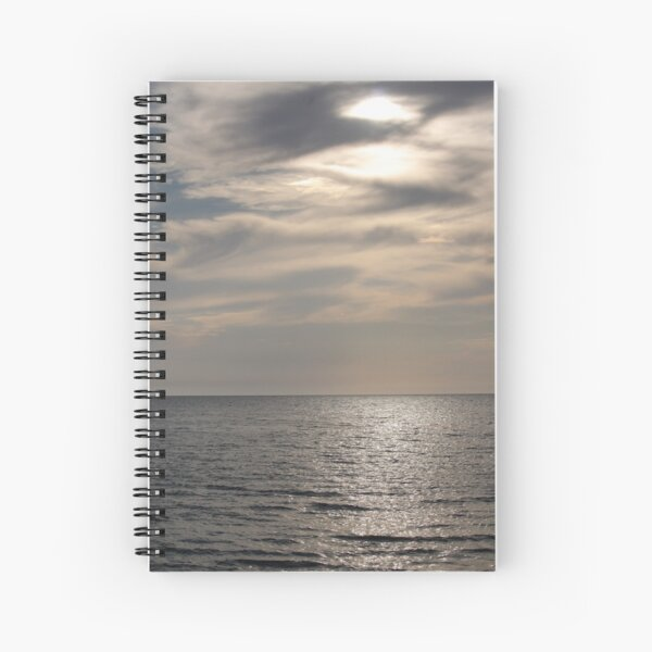 Sea view Spiral Notebook
