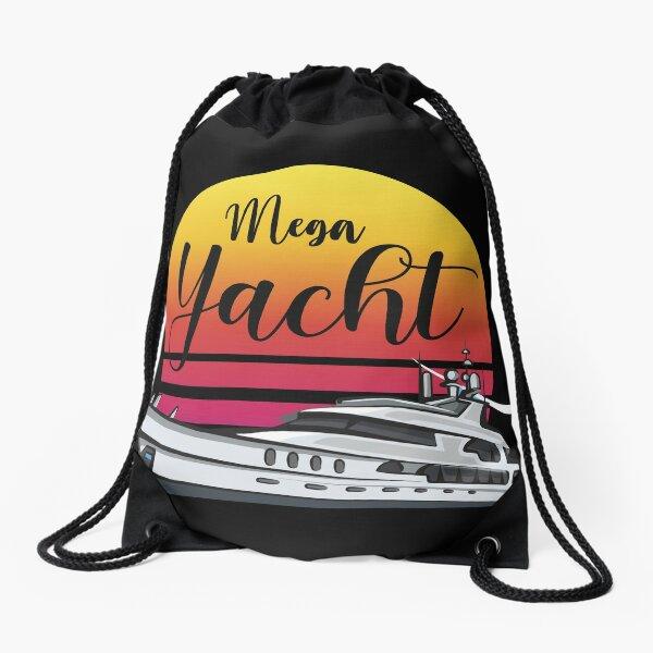 Mega Yacht   Vintage  Drawstring Bag