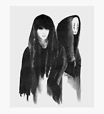 shinee taemin as spirited away's no-face Photographic Print