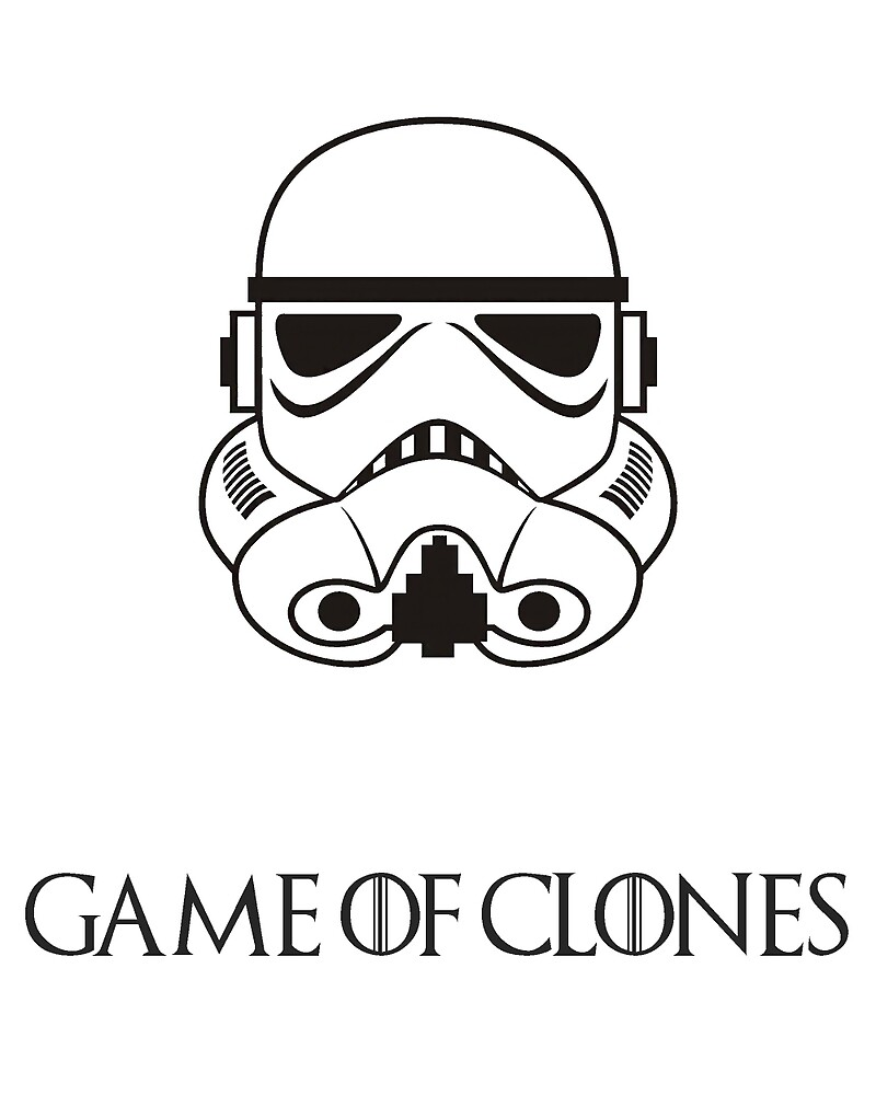 Game Of Clones Black by minimalistedits