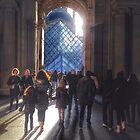 Louvre Paris by Murray Swift