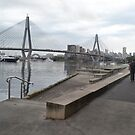Anzac Bridge, Blackwattle Bay, Sydney by Gary Kelly