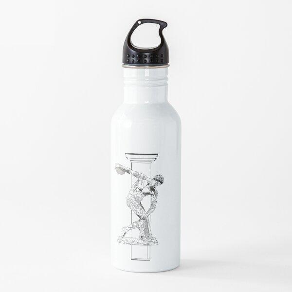 Trabajo de línea gráfica Discobolus Botella de agua