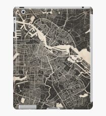 amsterdam map ink lines iPad Case/Skin