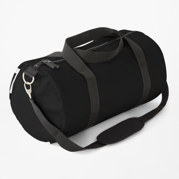 Black all the time vintage Duffle Bag