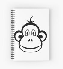 Monkey - Year of the Monkey 2016 Spiral Notebook