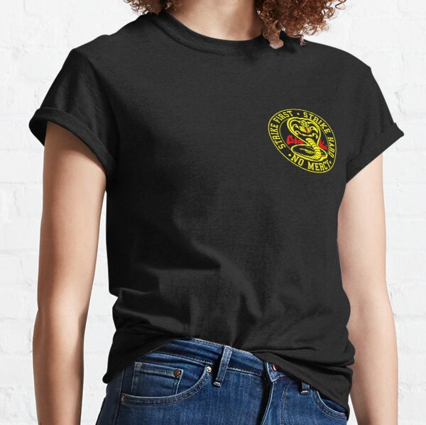 Cobra Kai round small logo Classic T-Shirt