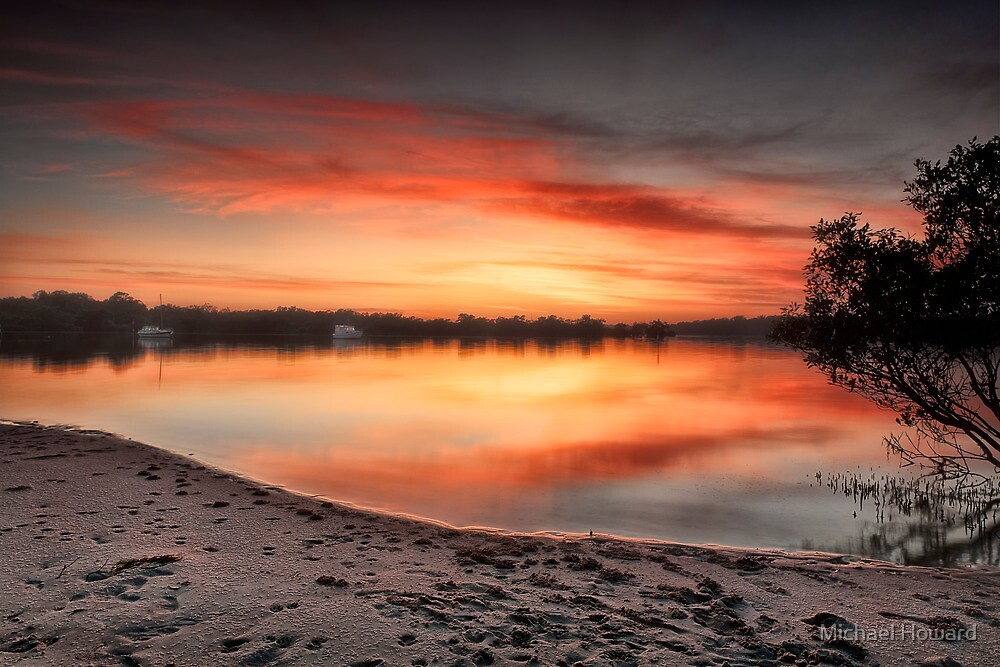 Down by the river by Michael Howard