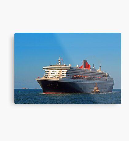 Queen Mary 2 - Fremantle Western Australia  Metal Print