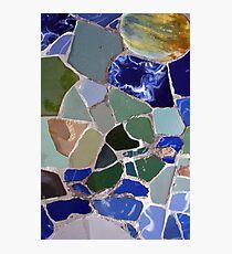 Gaudi Mosaics Photographic Print