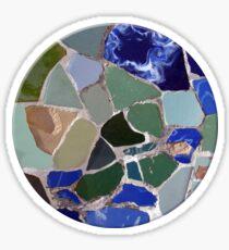 Pegatina Gaudi Mosaics