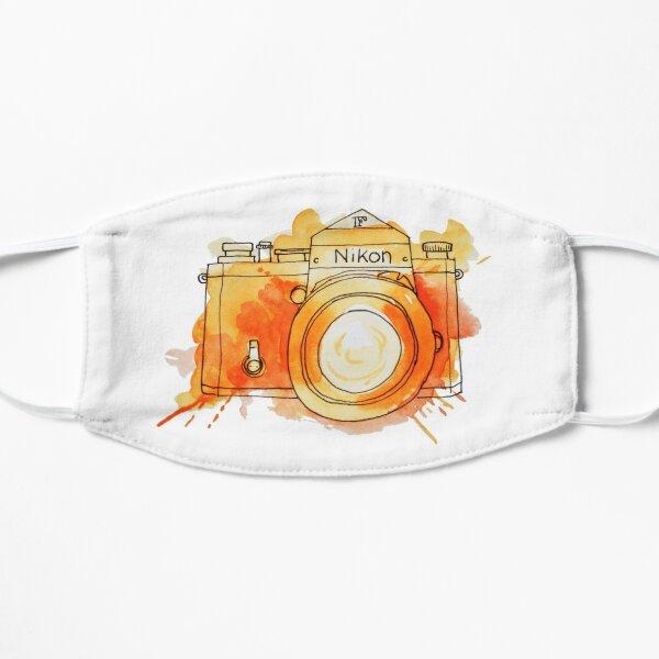 Vintage Nikon Camera - Orange Flat Mask