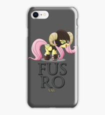 FUS RO yay (My Little Pony: Friendship is Magic) iPhone Case/Skin
