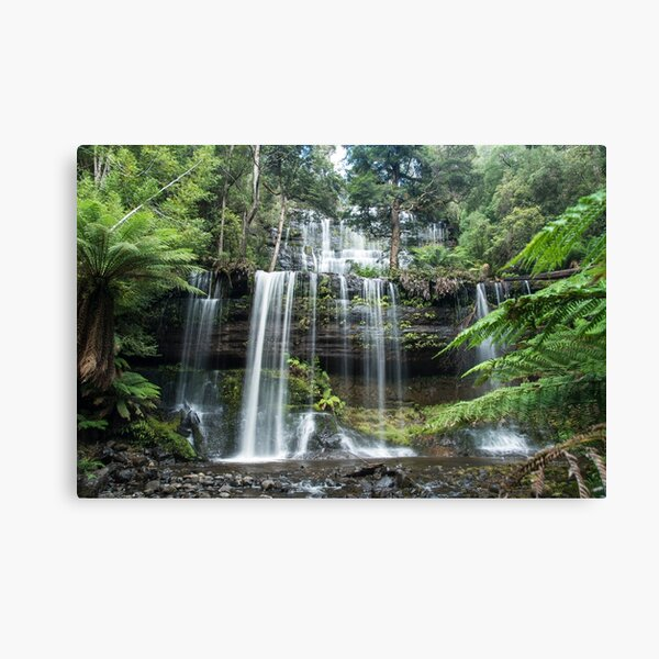 Russell Falls, Mt Field National Park, Tasmania Canvas Print