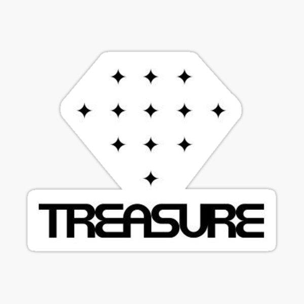 Treasure Logo Sticker