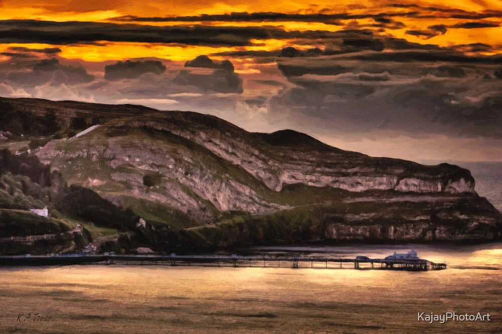 Great Orme Sunset by KajayPhotoArt