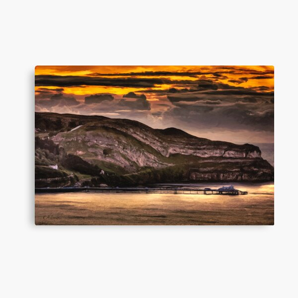 Great Orme Sunset Canvas Print