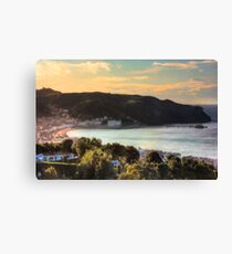 Llandudno Bay and Great Orme at Sunset from Nant y Gamar Canvas Print