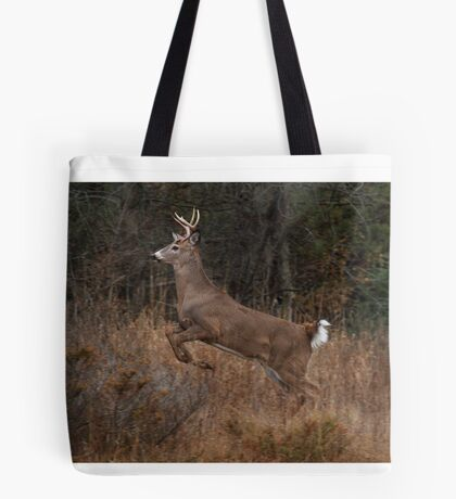 Early Morning Buck - White-tailed Deer Tote Bag