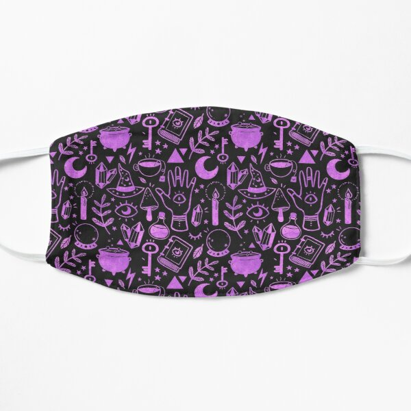 Witchy Things Textured Purple Mask
