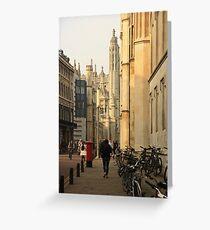 Cambridge Architecture Greeting Card
