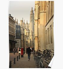 Cambridge Architecture Poster