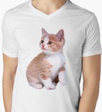 Kitten! Sale!!! Men's V-Neck T-Shirt