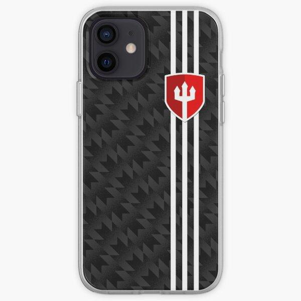 Camiseta Manchester United 2017/18 3rd Kit Patrón Funda blanda para iPhone