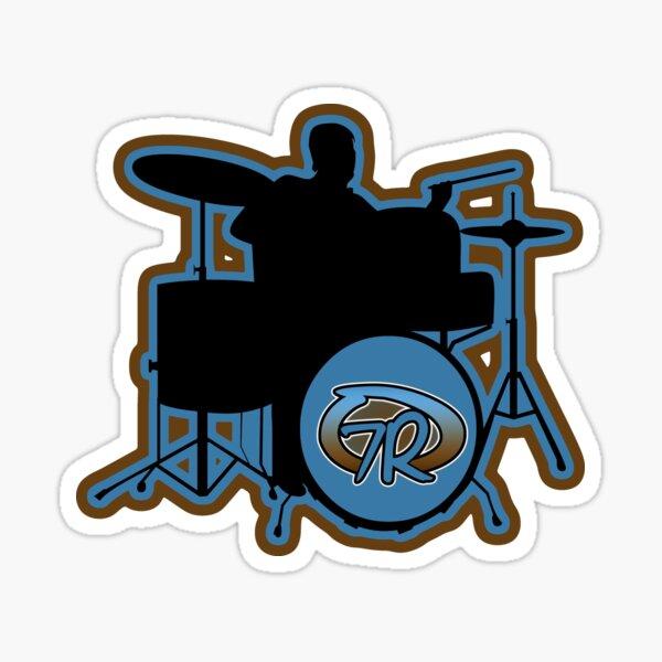 7Rock Drum Logo Sticker